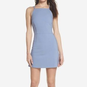 French Connection Womens Blue Whisper Sheath Dress
